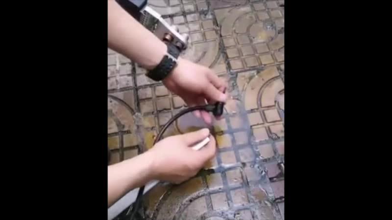 Пайка труб без перекрытия воды