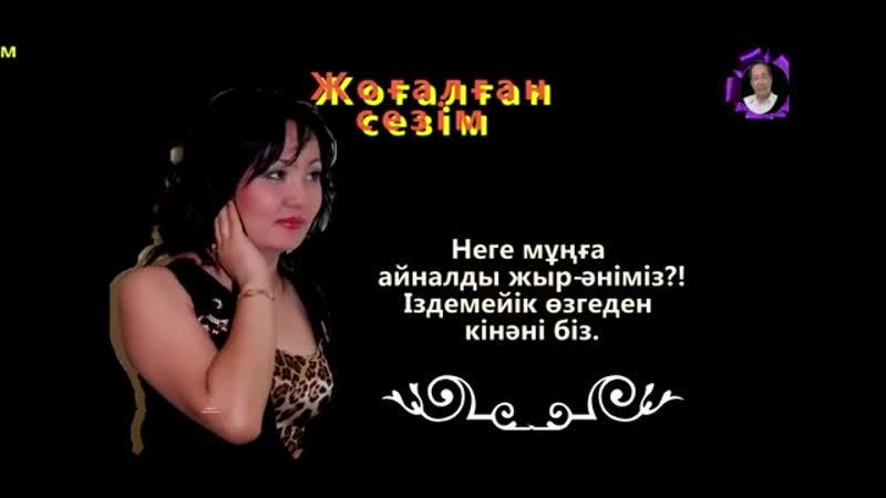 Лашын Мұратқызы - Жоғалған сезім (БейнеМәтін).mp4