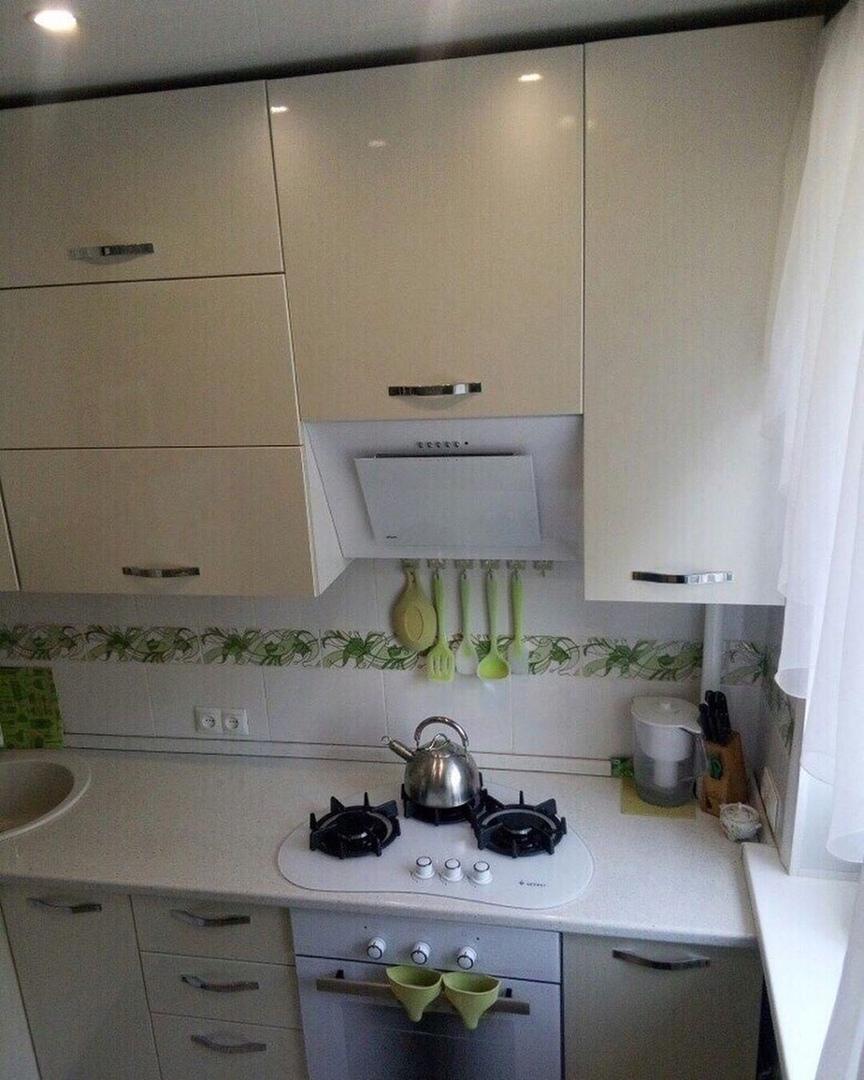 На ваш суд наша скромная кухня после ремонт (площадь 6 кв. м.)