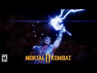 Первый взгляд на Найтвульфа из Mortal Kombat 11