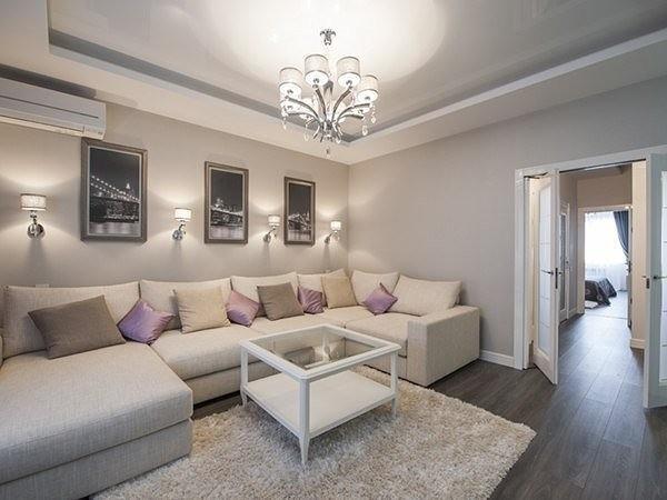 Двухкомнатная квартира - современный и стильный дизайн