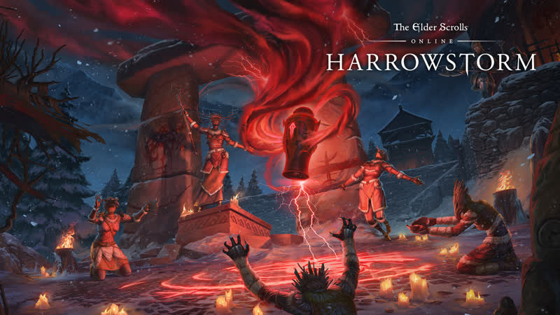 The Elder Scrolls Online разработчики представляют дополнение Мрачная буря