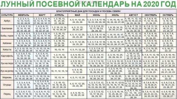 ЛУННЫЙ ПОСЕВНОЙ КАЛЕНДАРЬ 2020 МартПодготовка и замачивание семян: 3, 6, 11, 13, 17, 18 и 22 марта. Благоприятные дни для посева семян на рассаду в марте: огурцы 1, 2, 3, 4, 5, 6, 7, 28, 29, 31;