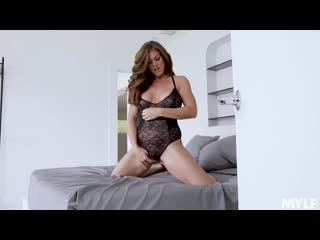 Ivy Secret - Lacy Black Lingerie Loving [All Sex, Hardcore, Blowjob, Lingerie]