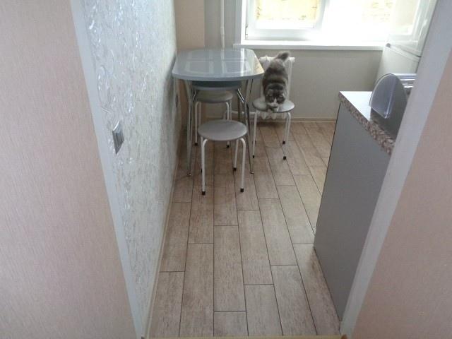 Переделка старой запущенной кухни. Как вам такой ремонт?