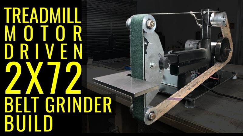 How to: 2x72 Belt Grinder Build