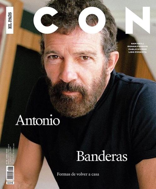 Антонио Бандерас для ICON, 2020