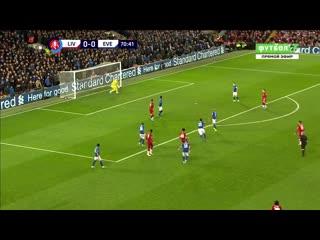 Ливерпуль - Эвертон. 1:0. Джонс