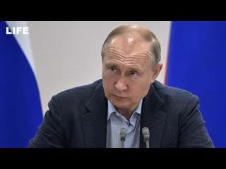 Путин остался недоволен работой по ликвидации паводка в Иркутской области
