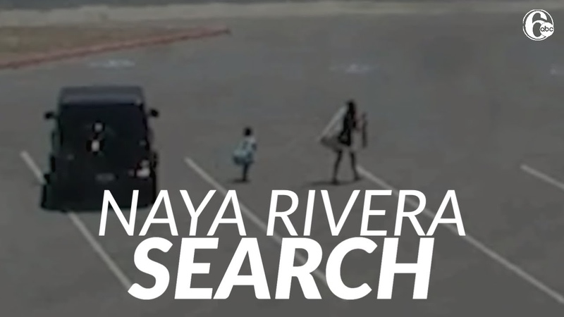 Surveillance video shows actress Naya Rivera and son at Lake Piru before her disappearance