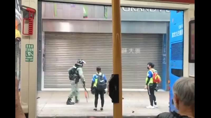 De-arrest in progress shared today via WhatsApp HKprotests