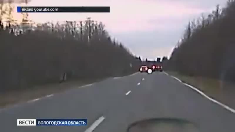Смертельное ДТП на трассе попало на видеорегистратор.mp4