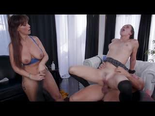 Syren De Mer and Aidra Fox [All Sex, Hardcore, Blowjob, BDSM, Threesome]
