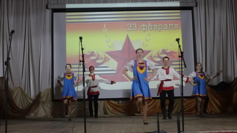 Танцевальный коллектив Стремление танец 1
