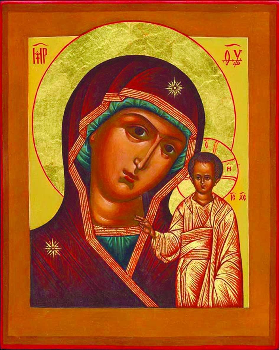 Икона Казанской Божьей Матери в Новочеркасске