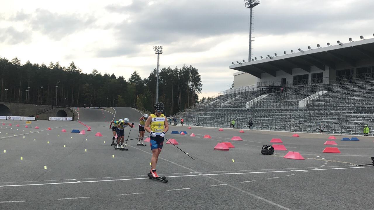 Третье место у Евгении Шаповаловой