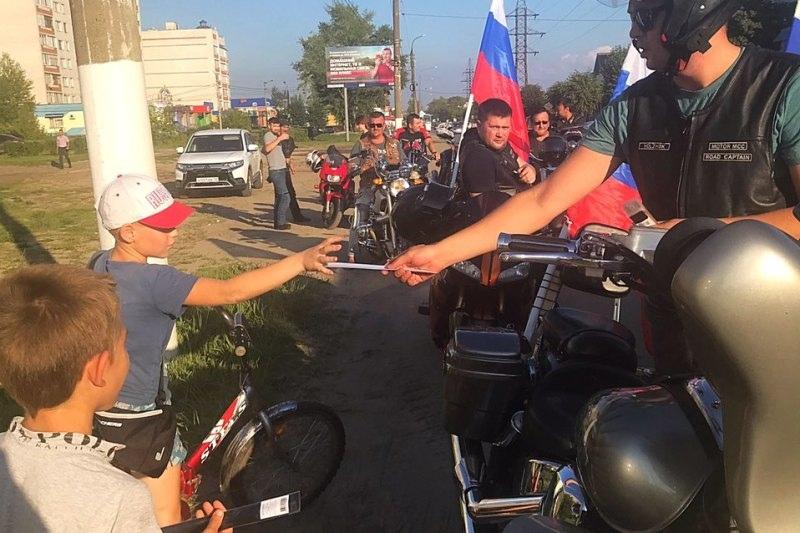 Байкеры и сотрудники ГИБДД организовали мотопробег