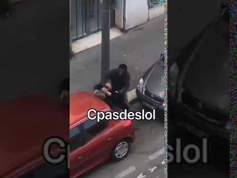 Der arme Franzose hat einen schwierigen Tag in der NoGoZone
