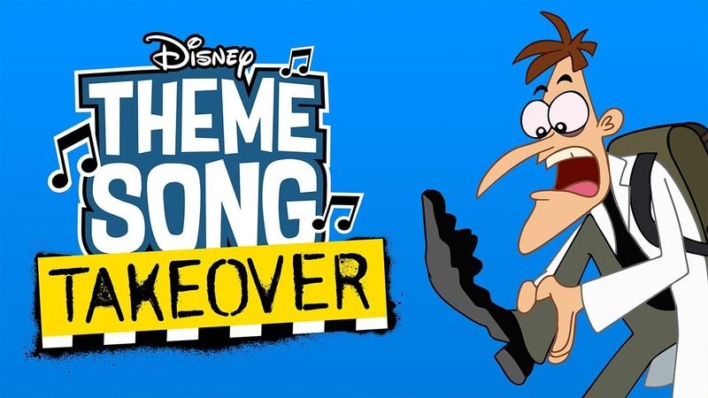Dr. Doofenshmirtz Theme Song Takeover | Milo Murphys Law | Disney Channel