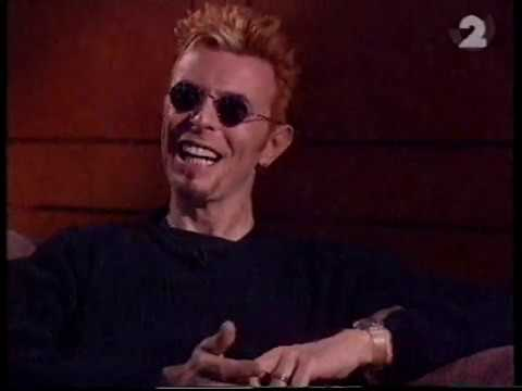 David Bowie talking about his sons mohawk