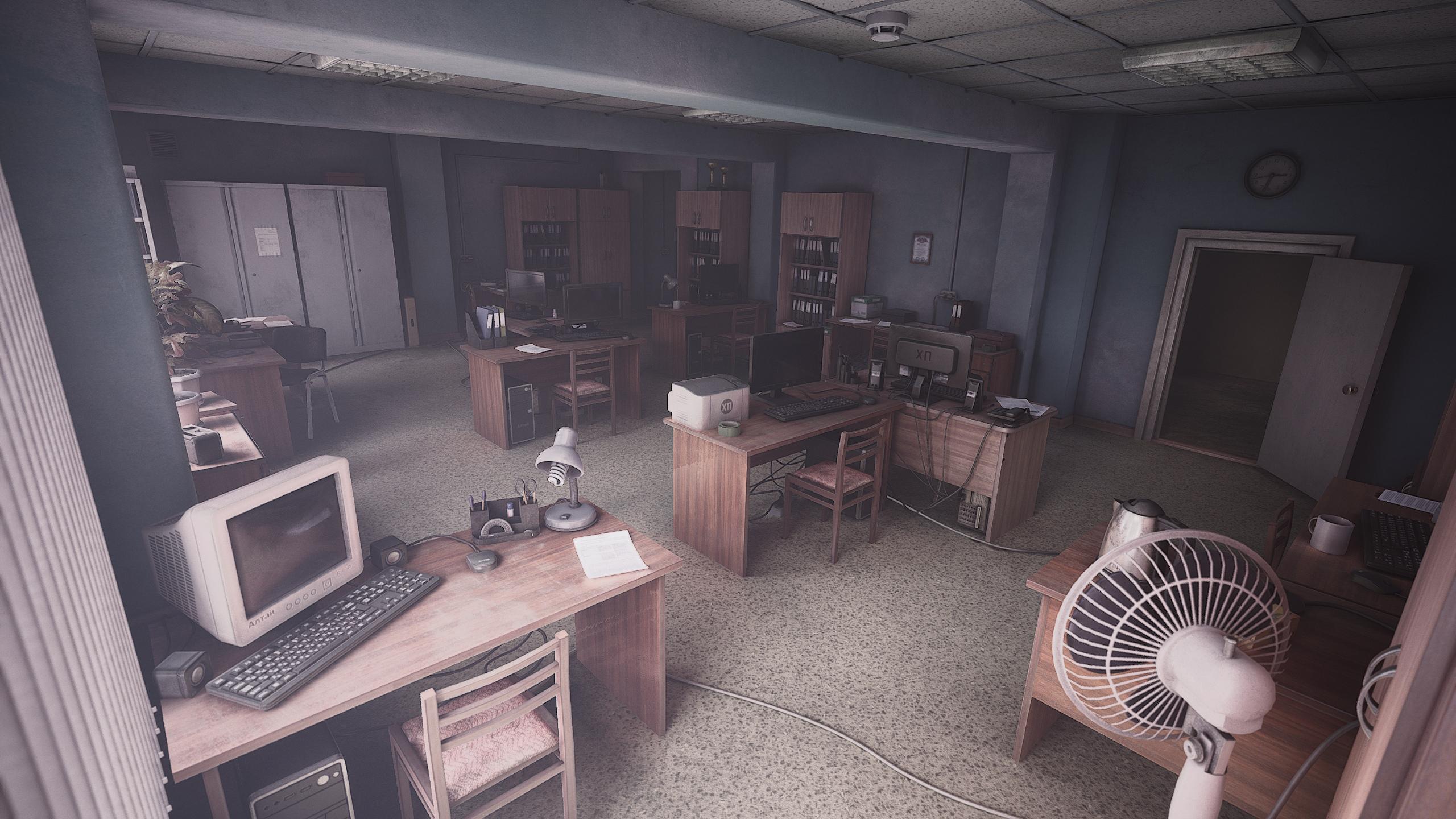 Офис в глубинах Дальнего Востока  #yebenyavirtual - Фото