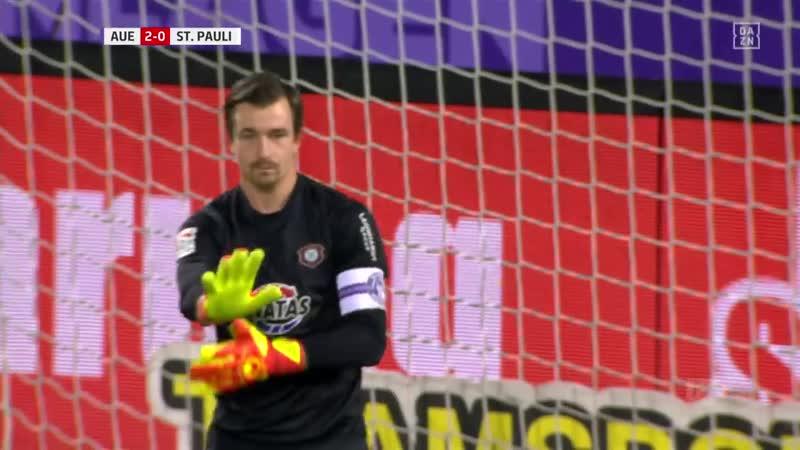 • 14 Spieltag FC Erzgebirge Aue 31 FC St. Pauli 22112019