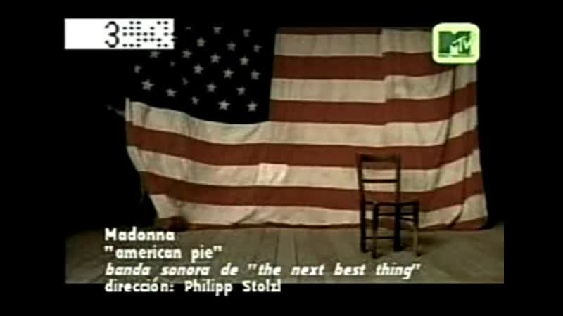 Madonna - american pie mtv lat