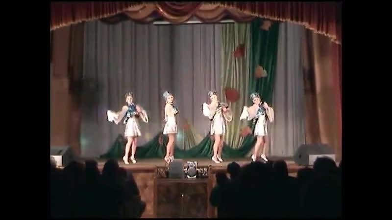 русский народный танец Во саду ли в огороде 480p mp4
