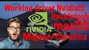 WORKING DRIVER NVIDIA MACOS MOJAVE/CATALINAHACKINTOSH!