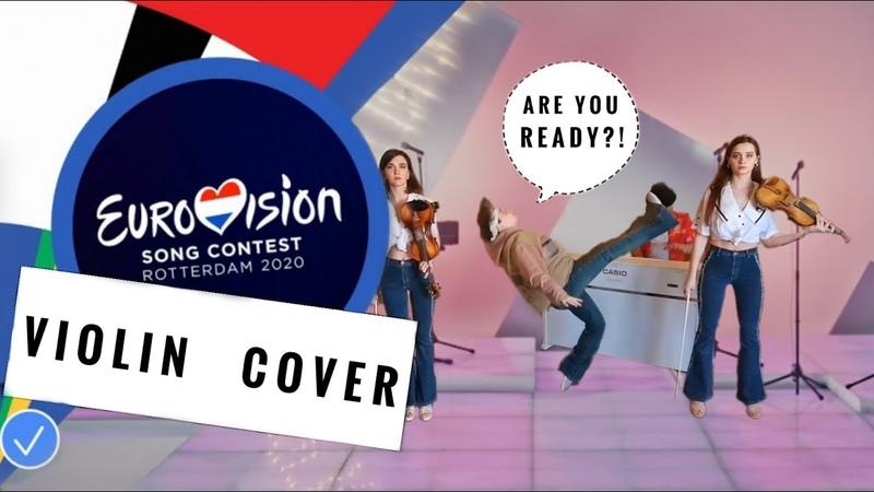 Little Big UNO Eurovision 2020 Пародия и кавер от Рутгера Гарехта 1Violin и Адель Гарехт