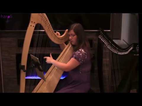 Into the West Harp cover from Lord of the Rings