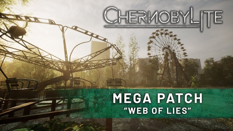 Chernobylite - Новый патч (Web of Lies)«Паутина лжи»