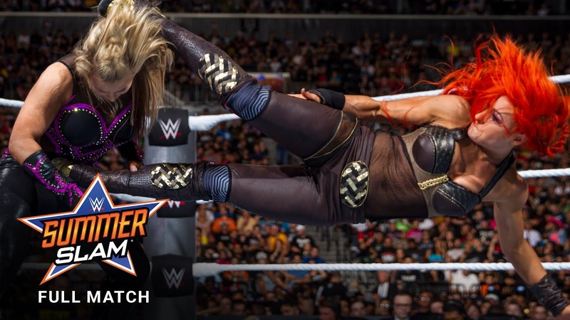 FULL MATCH Nikki Bella Natalya Alexa Bliss vs Becky Lynch Naomi Carmella SummerSlam 2016