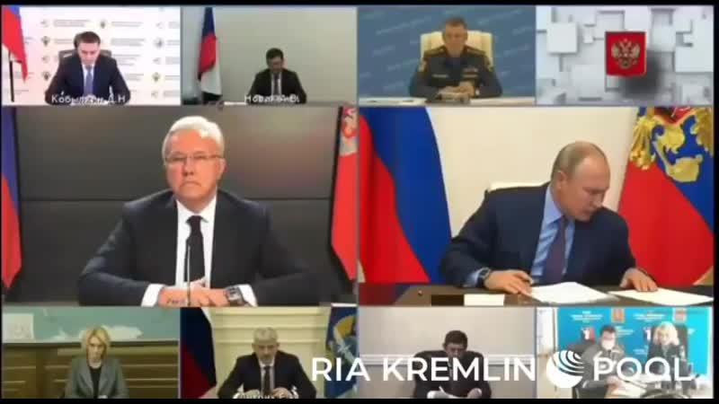новостироссии норильск⠀Усс намотал на ус Путин осек губернатора после доклада о Норильске⠀ Мы чего будем узнавать о ситуа