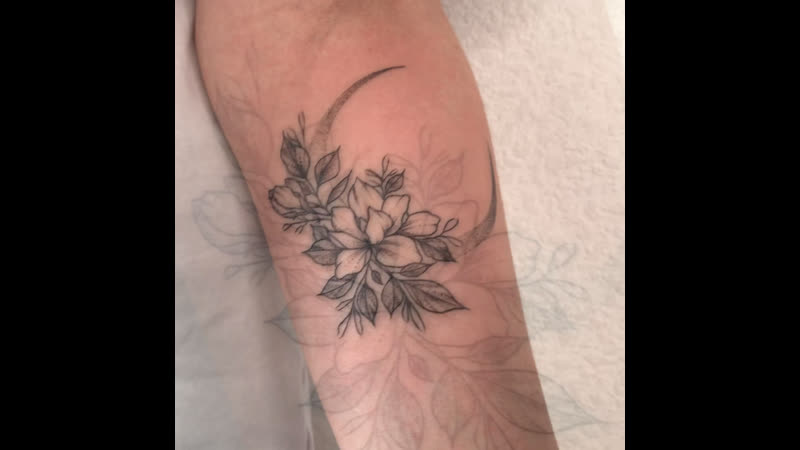 Тату Челябинск Лера Шибакова Elite Tattoo