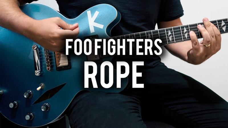 Foo Fighters - Rope - Guitar Cover - Chris Shiflett Telecaster - Hagstrom Pat Smear