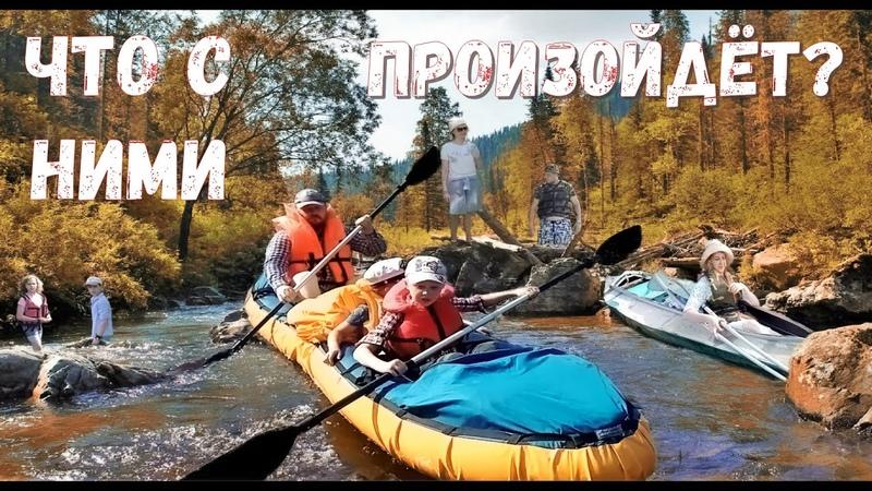 Приходская жизнь Сплав по реке Воря