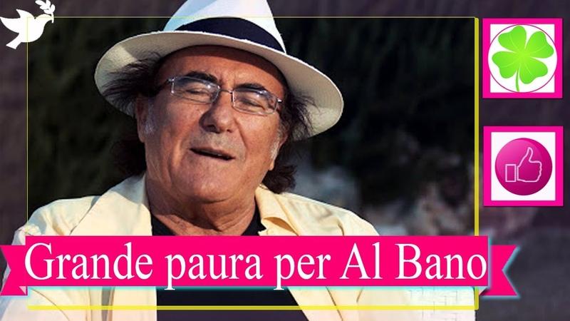 Grande paura per Al Bano Carrisi il cantante si arrampica di nuovo sul palco gelo tra il pubblico