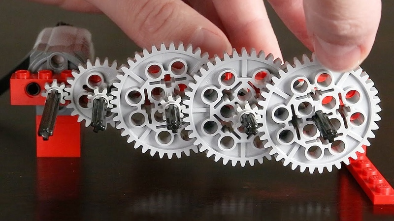 Making a GOOGOL:1 Reduction with Lego Gears