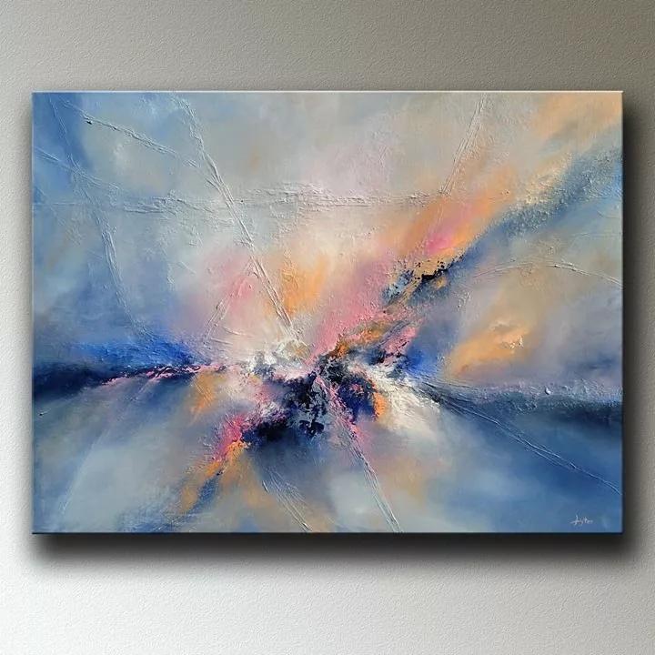 Чаще всего Кристофер Литер прибегает к технике импасто, которую практиковал один из самых известных художников-постимпрессионистов Винсент ван Гог.
