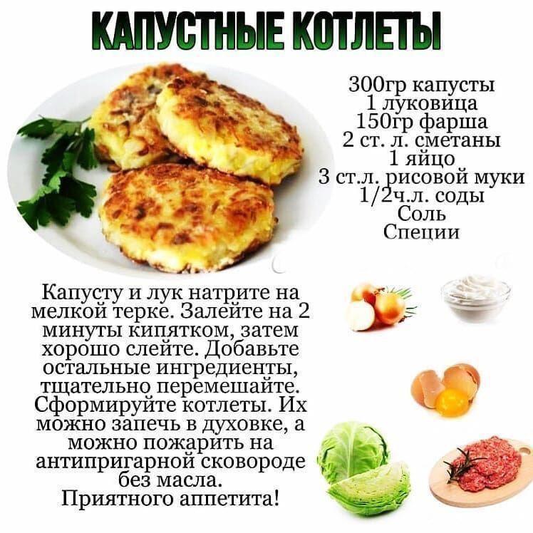 Вкусные и простые капустные котлеты