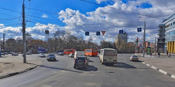 Схему движения по площади Сенной в Нижнем Новгороде измен...