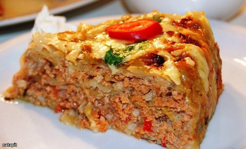 Курино-капустный пирог: сбалансированно и вкусно!