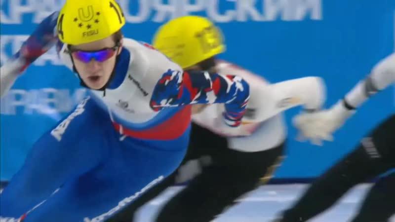 Золото южнокорейского шорт-трекиста Пак Джи Вона