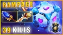 Io 39 Kills Mid lane PRO RAMPAGE build Dota 2 Gameplay