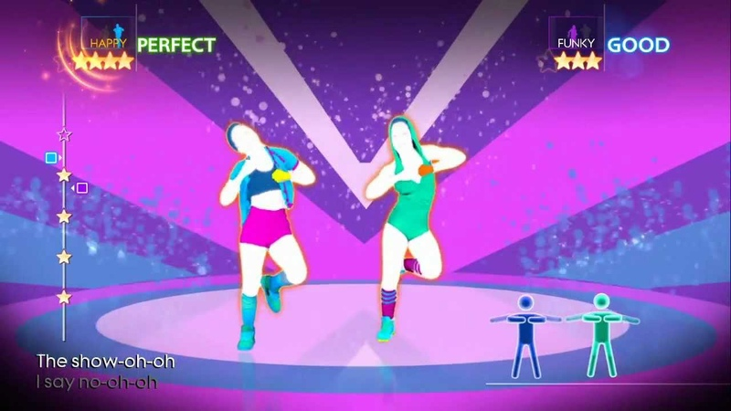 Just Dance 4 Run the Show Kat DeLuna ft Busta Rhymes 5 Stars