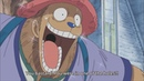Chopper got amazed after seeing usopp uses 5 ton hammer! one piece