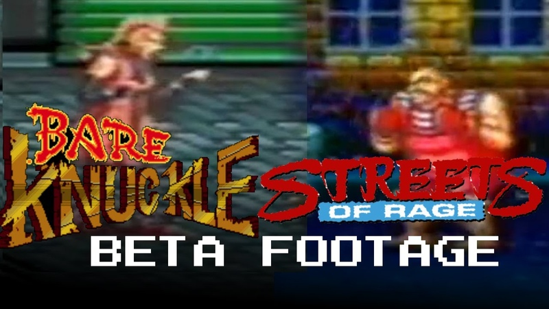 Streets of Rage Bare Knuckle 1 2 BETA