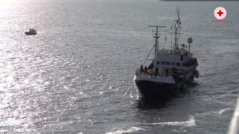 Migranti in quarantena, IL VIDEO dalla nave.mp4