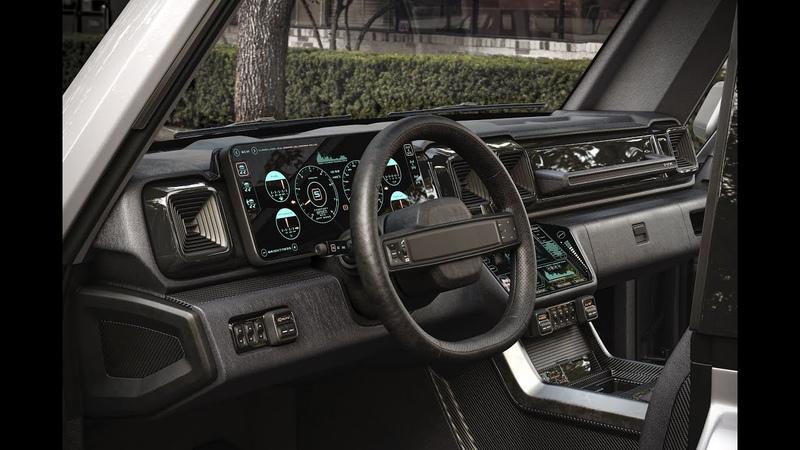 G Niva interior 360 panorama 4K
